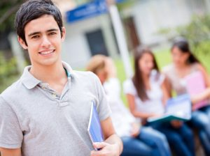 若い男子学生