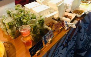 納涼船の食べ物